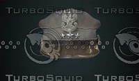 polish officer s cap 3d model