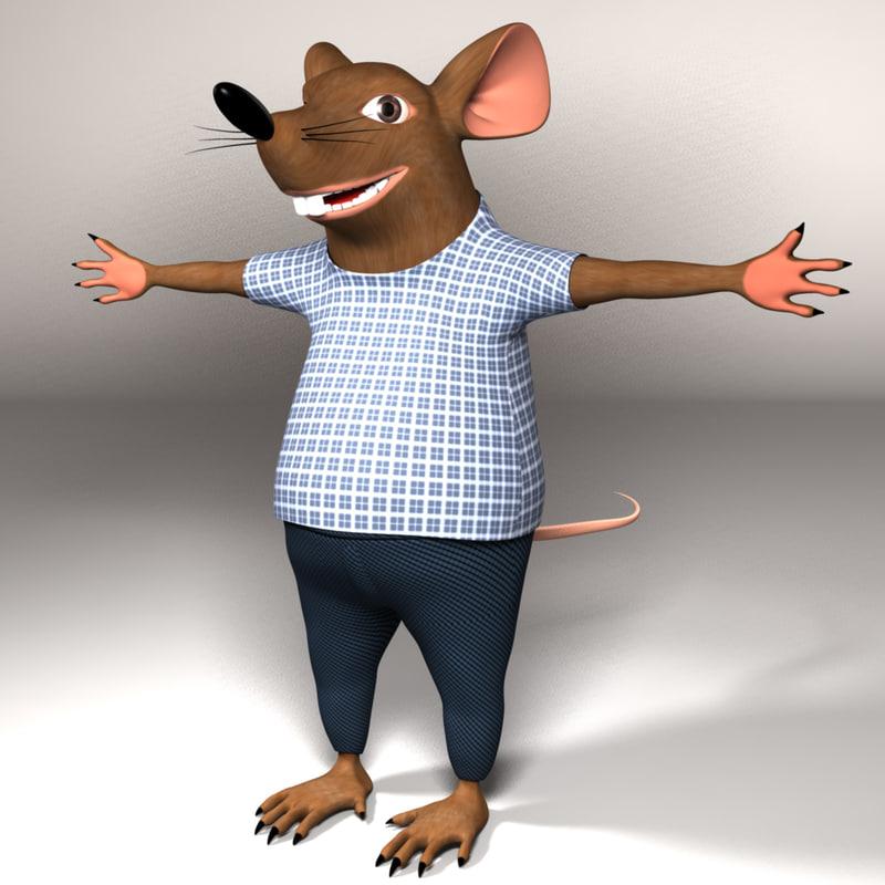 mouse 3d lwo