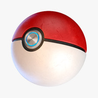 3d pokemon ball