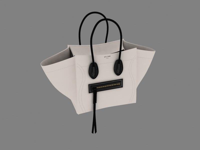 ladies handbag 3d model