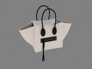 ladies handbag 3d model