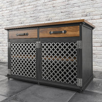 Lattice Work Ellis Console