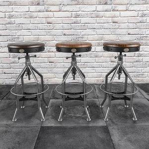 wright stool 3d max