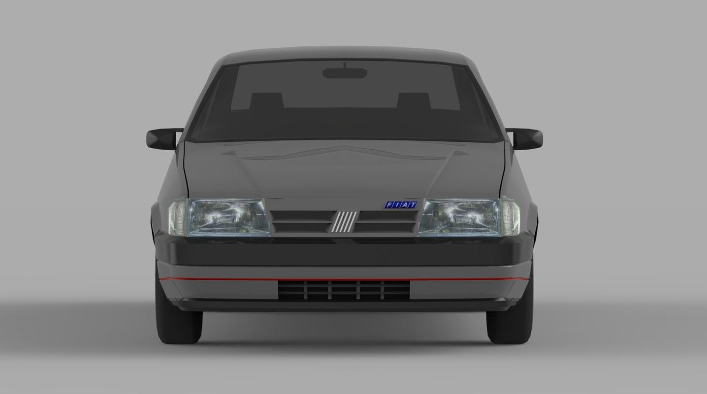 3d model of midpoly car