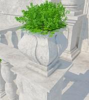 3d max vase stone 07