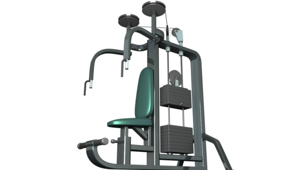 flys cable gym machine 3d ma