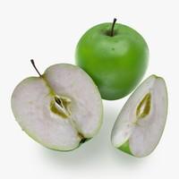 apple fruit c4d free