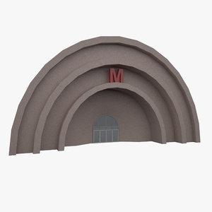 subway entrance moscow max