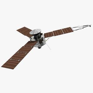 3d max juno spacecraft