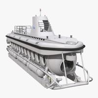 3d tourist submarine mark v model