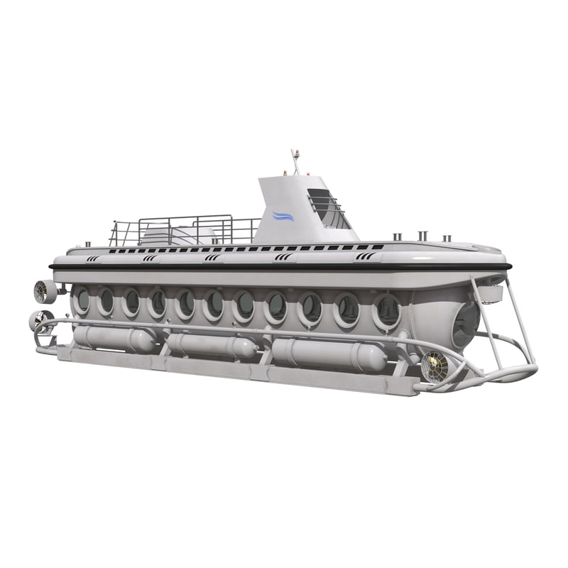 3d tourist submarine mark v