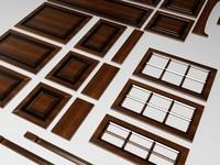3d cabinets doors