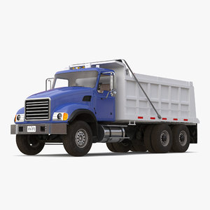 3ds dump truck generic simple