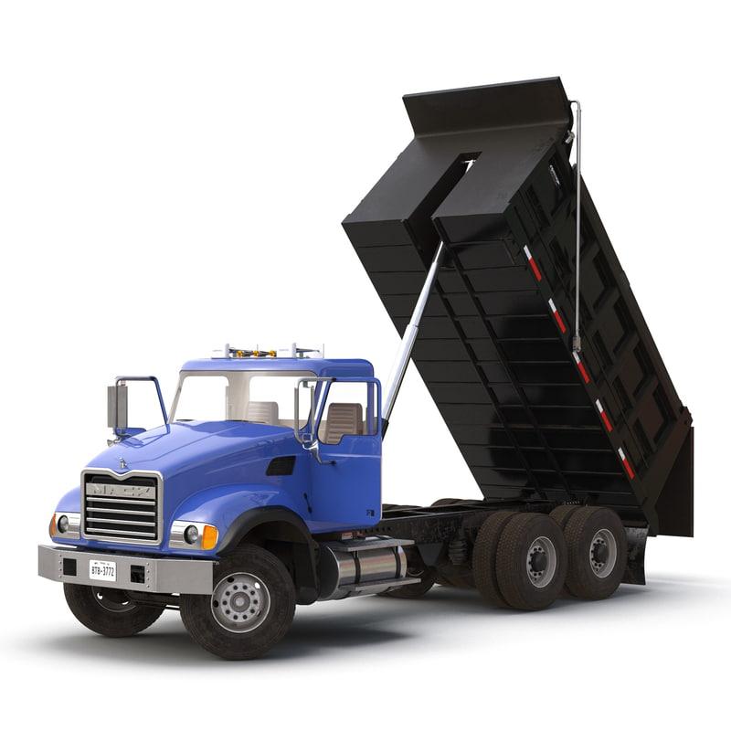 dump truck mack rigged max