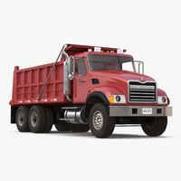3d max dump truck mack