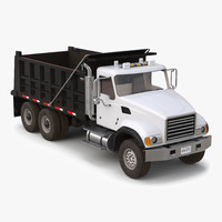 Dump Truck Mack Simple Interior
