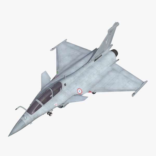 3d max french fighter dassault rafale