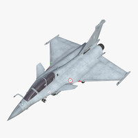 French Fighter Dassault Rafale