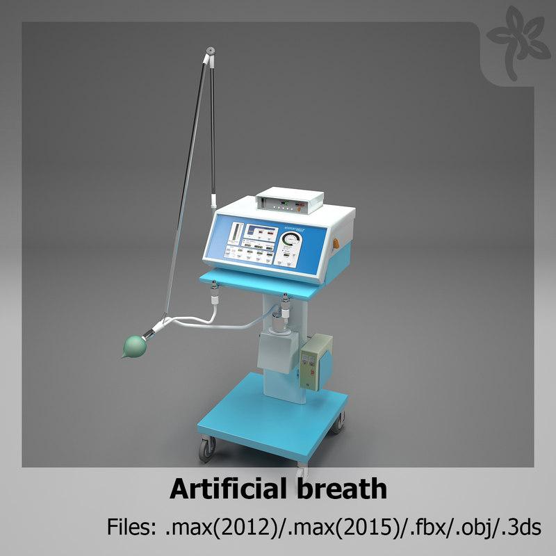 3d artificial breath