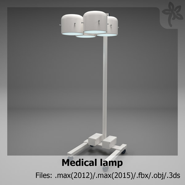 medical lamp 3ds