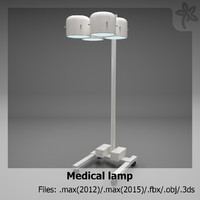 medical lamp 3ds