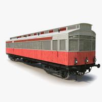 old tram 3d 3ds