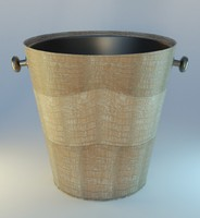decorative bucket obj