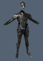 free knight artorias 3d model
