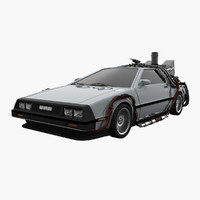 max delorean dmc future