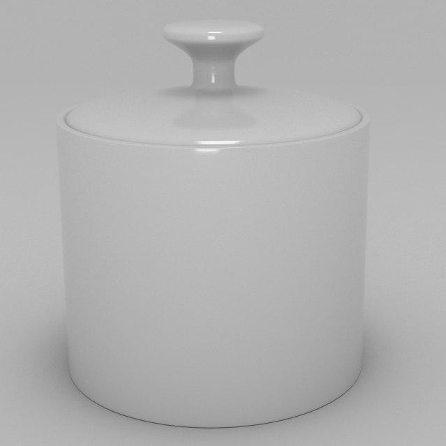 sugar bowl 3d blend