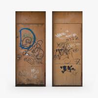 old door 3d model