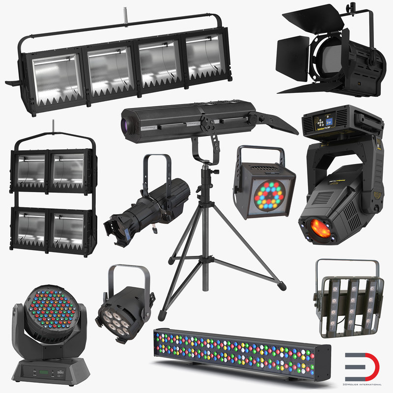 3d stage lighting 2