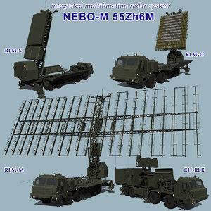 nebo-m radar 3ds