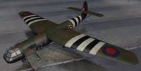 3d model airspeed horsa mk-1