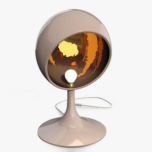 trophy lamp 3d max
