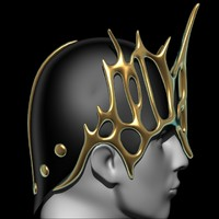 battle crown c4d