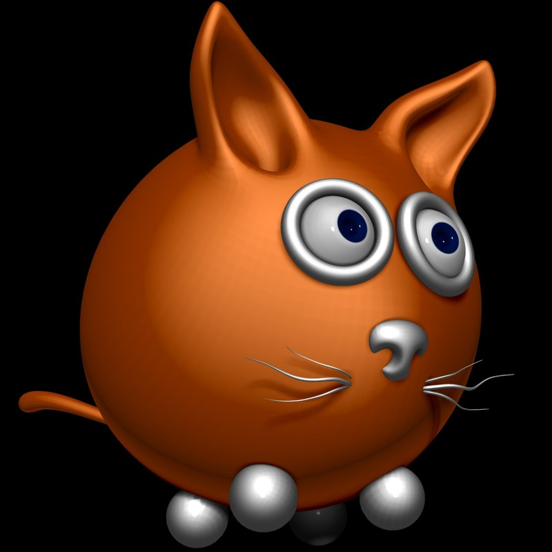 cat cartoon max