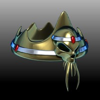 crown fantasy 3d model