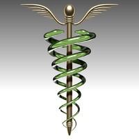 medical symbol 3d max
