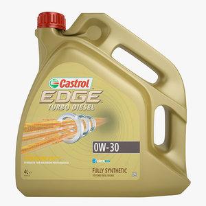 3d castrol edge turbo