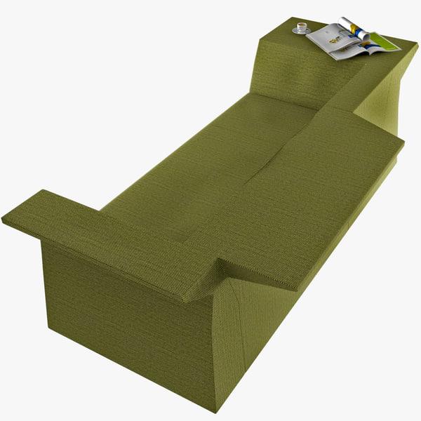 3d ikaros sofa