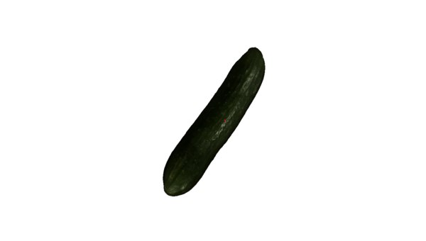 3d model cucumber printing
