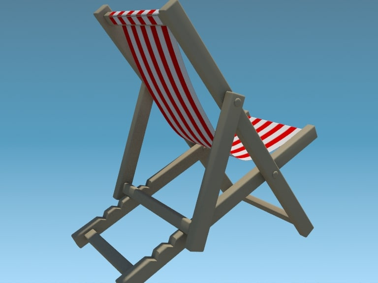 max deck chair beach swimming pool