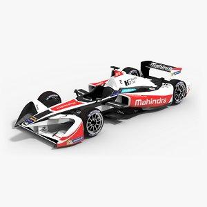 mahindra racing formulae season 3d model