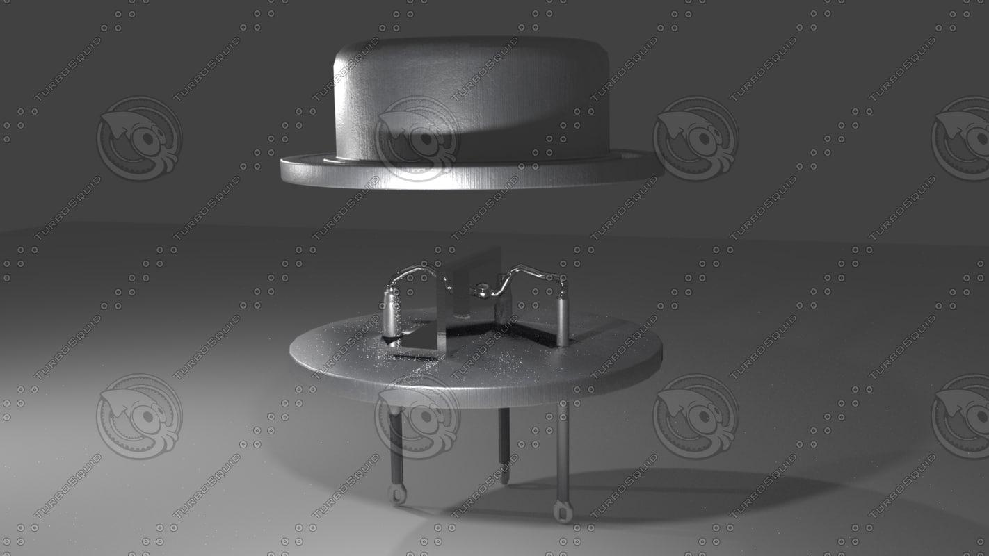 3d model of transistor