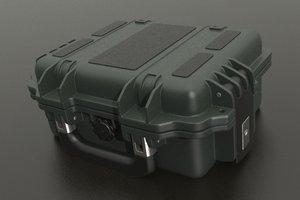 pelican case 3d max