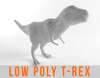 T-Rex Low Poly T rex