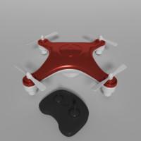 3d quadcopter drone