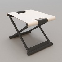 Bazane Stool by Christian Liaigre