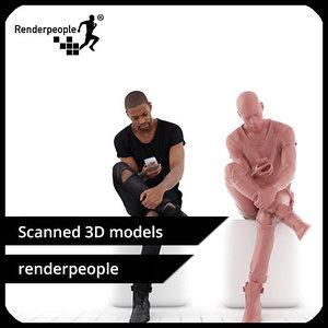 photorealistic human 3d model